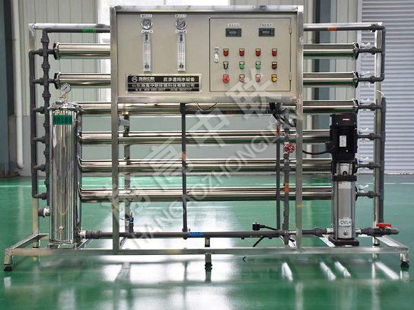 单级反渗透水处理设备 3T/H