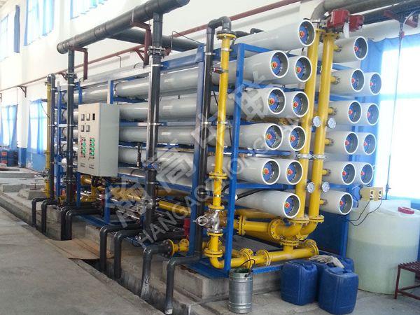 100吨单级反渗透设备工程案例