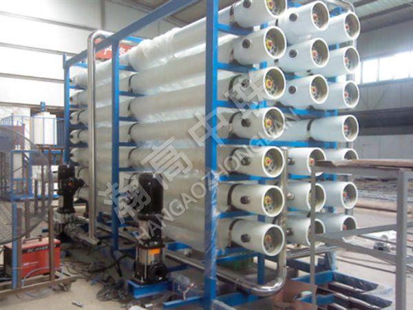 反渗透纯水设备工程案例