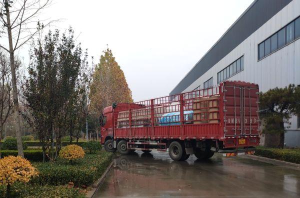 【瀚高中联】口罩医疗行业3吨双+EDI设备发货现场