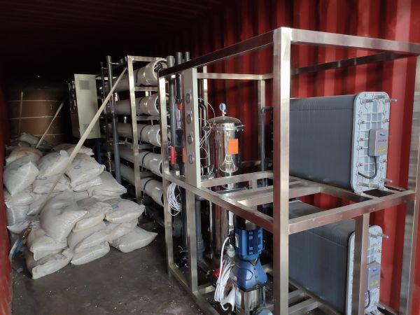 【瀚高中联】某电子行业10吨双+EDI设备发货现场